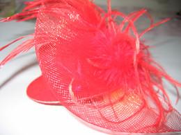 Femmes Fasinators Plume Chapeaux pinces à cheveux Arcs Veil Arc Plume Barrette 40pcs / lot # 1643 NON MARQUE ? partir de fabricateur