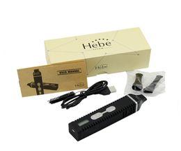 Wholesale E Cigarette Crystal Kit - Hebe Titan 2 Dry HerbVaporizer Starter Kit 2200mAh Battery crystal displaymod vape vaporizer e-cig ecig e-cigarette electronic cigarette