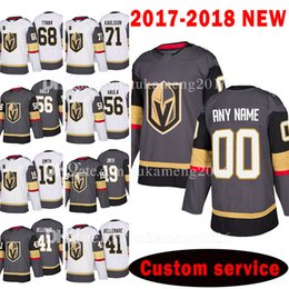 Wholesale 56 Jersey - Custom 2018 Vegas Golden Knights 56 Erik Haula 19 Reilly Smith 68 TJ Tynan Jersey 71 William Karlsson 41 Pierre-Edouard Bellemare Jerseys