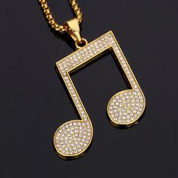 Wholesale Costume Jewelry Gold Chains - New Design Male Big Pendants Necklaces Pieces Rhinestone 18k Gold Filled Chains Filling Pieces Mens Necklace Fashion Costume Jewelry