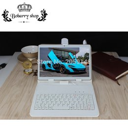 Tastiera di tavoletta gps online-Commercio all'ingrosso 10 pollici K10SE Ram 4GB Rom 32GB Octa Core Tablet Android 5.1 Telefono 4G Chiamata Tablet PC tablet bluetooth GPS + tastiera