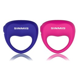 Wholesale Twin Adult - SINMIS Love Honey Powerful Vibration Cock Rings Delayed Co-twin Shock Penis Rings for Men, Adult Erotic Sex Products q1106