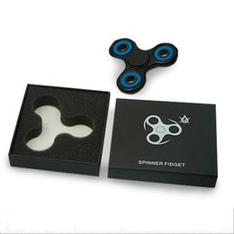 Wholesale Fantasy For Sale - For Triangle Fidget Spinner Packing Box Black Case Heaven And Earth Cover Container High End Cases Hot Sale 2 3jc