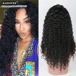 Wholesale Indian Remy Jerry Curls - Jerry Curly Human Hair Wigs For Black Women Indian Remy Hair Jerry Curls Lace Frontal Wig Glueless Natural Color 8-26 Inches