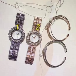 Wholesale Gem Stones Sale - Women Top Brand luxury diamond watch with bracelet Dress AAA watches For Ladies Girl Female Gifts Water Resistant Montre Femme Hot sale