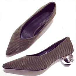 Wholesale Wedding Shoe Buy - Women Heels Online Shopping Cheap Ladies Dress Office Chunky Heels Shoe Buy Fashion Female Work Footwear Discount Pumps Shoe Outlet Purchase