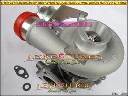 Wholesale Turbocharger For Hyundai - TF035 28231-27800 49135-07302 49135-07300 49135-07301 Turbo Turbocharger For HYUNDAI Santa Fe CRDi 05-09 D4EB D4EB-V 2.2L 150HP