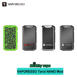Wholesale Nano Board - VAPORESSO Tarot Nano 80w TC Mod Kit Out Put Powerful OMNI Board 2500mAh 80W Best Matching with VECO Tank