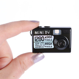 Wholesale 5mp Hd Smallest Mini Dv - 5MP HD 720P Smallest Mini Spy Digital DV Camera Video Recorder Portable Camcorder DVR