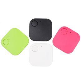 Mini gps tracker cat online-Mini Smart Finder Bluetooth Tag GPS Tracker Key Wallet Kids Pet Dog Cat Child Bag Localizador de teléfono Sensor de alarma perdida Anti con Opp Bag 10pcs