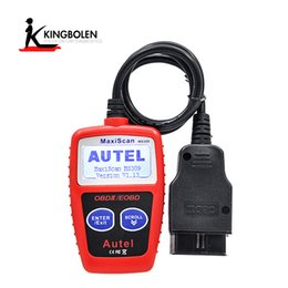 Wholesale Lights For Honda - Autel MaxiScan MS309 CAN BUS OBD2 Code Reader Scanner OBD II Car Diagnostic Tool Turns off Check Engine Light Read   Clear fault code