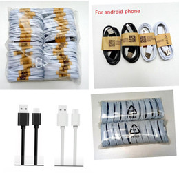 Wholesale Cable Micro Usb L - USB- Micro USB Cable V8 V9 1M 3FT Sync Data Cable 3.0 Charging Charger Wire For Galaxy S4 S5 Note 3 Type C Cable High quality L Free Shippin