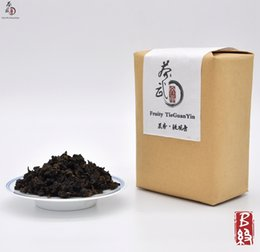 Wholesale Cha Wu B Fruity TieGuanYin Tea g AnXi Oolong Health Care Tea Organic Tie Guan Yin Chinese Oolong Tea Hot Sale Good Taste