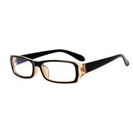 Wholesale Eyeglasses Frames Geek - Wholesale- 5 Color Hot Optical Myopia Glasses Clear Lens Eyewear Nerd Geek Glasses Frame Brand Sun Shade Eyeglasses Frames Men Women F15
