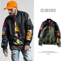 Wholesale Winter Jackets High Fashion Men - Tide brand New Winter high quaity bapes camo shark zipper Bomber Jacket MA1 thick velvet coat hip hop for men and female keep war