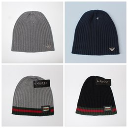 Wholesale Wholesale Fashion Accessory Scarf - Brand designer Knitted Winter Hats Knitting Beanies Warm Skullies Cap Accessories Christmas Gift 10 Colors LJJY741
