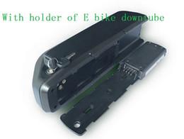 48v 12ah аккумулятор онлайн-Большой e-велосипед Акку Hailong батареи 48 в 12ah литиевая батарея для электрических велосипедов новый downtube аккумулятор для sam - - - sung клетки отправить 2A зарядное устройство