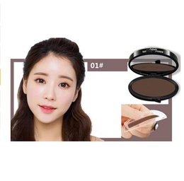 Wholesale Eyebrow Powder For Wholesale - Pro Printing Perfect Beginner Quick Eyebrow Enhancer Easy to Wear Waterproof Eye Brow Powder Palette with Brush Eyebrow Cosmetics for women