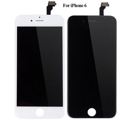 Wholesale Apple Tool Kits - 1PCS Free SHIPPING Grade A+++ For IPhone 6 LCD Screen Replacement Digitizer Touch Display Assembly For iphone 6 LCD Assembly Free tool kit