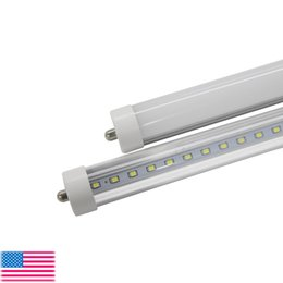 Garantía cree led online-T8 FA8 Luces de tubo de LED Single Pin led 8FT 45W 4800Lm bombillas SMD 2835 2400MM 8feet LED tubos fluorescentes de iluminación 3 años de garantía