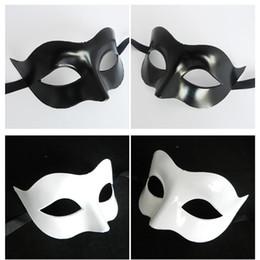 Wholesale Animal Half - Half Face Facial Mask Celebration Halloween Party Carnival Masquerade Ball Men Retro Roman Military Robot Faces Cosplay Masks