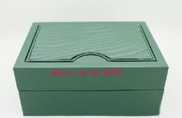 Wholesale Low Priced Luxury Watches - Low Price Hot sales Luxury Watch Boxes Mens For Watch Box Green Original Wooden Inner Outer Woman's Men Watches Boxes Papers