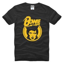 Wholesale David Bowie T Shirt - New Designer Ziggy Stardust Glam Rock T Shirts Men Famous Brand David Bowie Printed Male Short Sleeve Tshirt Rock Funs T-shirt