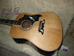 Gitarre natürlich online-Kundenspezifische natürliche akustische E-Gitarre aus China Guitar Factory kostenloser Versand