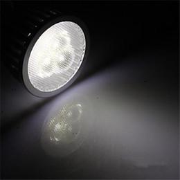 Wholesale Mr16 Warm White 6w - 6W Led Spotlights Bulb GU10 E27 E14 MR16 60 Angle 420 Lumens Warm Natural Cool White 3x2W Dimmable Led Lights 110-240V High Bright Led Bulbs