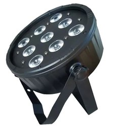 Wholesale Rgbwa Led Par - Newest 9pcs*18W RGBWA+UV 6IN1 high power led par light for stage lightings DJ Party DISCO