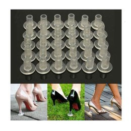 Wholesale Shoes Care Wholesale - 30pcs High Heel Protectors Stopper Stop Heel Sinking Stiletto High Heel Cover