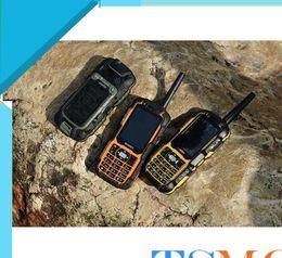 Wholesale Elder People Mobile Phone - A12 Keyboard Phone 3800mAh 2.4Inch Dual Card Walkie Talkie Rugged GSM MobilePhone 0.3MP Russian keyboard Elder People Mobile Phone