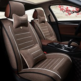 Wholesale Cushions Wholesalers America - Car Seat Covers Business Purpose Vehicle 7seats Car cushion + seat cover Exported to Europe and America quanlity