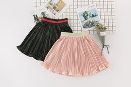 Wholesale Ballet Wholesale - Cute Girls Skirts Pleated Ruffle Children Skirt Fashion Girls Clothes kids Ballet Skirts Child Clothing Toddler Clothes Baby Clothing A662