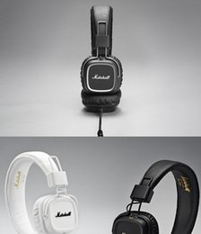 Wholesale Bass Professional - Genuine Marshall Major II headphones With Mic Deep Bass DJ Hi-Fi Headphone HiFi Headset Professional DJ Monitor Headphone