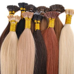 Wholesale Hair Extension Fusion Wholesale - 200strands Professional Salon using Keratin fusion prebond hair extension I TIP U TIP V TIP lowest price