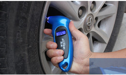 Wholesale Tyre Pressure Gauges - Pressure & Vacuum Testers New Lcd Digital Tire Gauge Tyre Air Pressure Tester Pneumatic Tool For Car Motorcycle