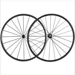 Wholesale 24mm Carbon Tubular - New Arrival 24mm clincher tubular carbon road wheels powerway super light R13 hub Pillar aero 1432 spoke Road Bicycle Wheelset