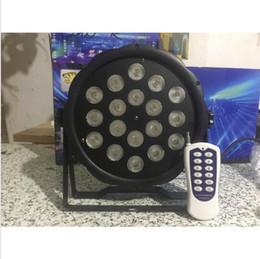 Discount american dj par led - 50m Wireless control 18x8W RGBW American DJ Mega Quad Par Profile Bright Stage LED Wash Light RGBW Color Mixing 10pcs lot