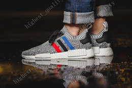 Wholesale Newest Fur Boots - 2017 Cheap NMD Mens Trainers Shoes Sneakers women Newest Color Men Nmd R1 sRunning Shoes For Men Top Boots,Sports Shoes nmd xr1 Eur 36-45