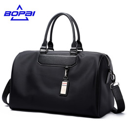 Wholesale Overnight Duffel Bag - Wholesale- Luxury journey bags women's overnight travel bag men tourist bag large size women's travel handbags stylish male duffel bags