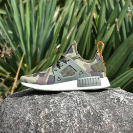 Wholesale Cheap Youth Shoes - 2017 Cheap New NMD XR1 Fall Olive Discount Sneakers For Men Women Fashion Sports Sneakers Trainers Youth Running Shoes With Box