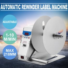 Wholesale Label Printer Machine - Label Rewinder Machine Automatic Label Rewinder Speed Adjustable Label Printer Rewinding Machine Digital Tag Rewinder (Label Rewinder)