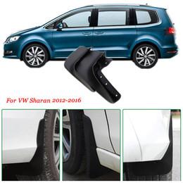 Wholesale Vw Splash Guards - Brand New 4pcs High Quality ABS Mud Flaps Splash Guards Car Fender Mudguard For VW Sharan 2012-2016