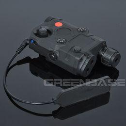 Wholesale Laser Peq 15 - GB PEQ-15 Red Laser and Led Flashlight Multifunction Light Black NGA0584