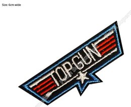 Wholesale Costume Gun - TOP GUN Wings Maverick Movie TV Embroidered Patch Costume Sew On Iron On Badge NEW & CHEAP