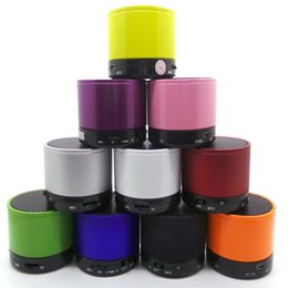 Wholesale Compact Audio - Wholesale Portable Mini USB Bluetooth Speaker Compact Stereo Uiniversal Wireless Audio Music Loud Speakers Surpport Micro TF Card AUX