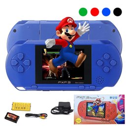 Wholesale Lcd Music Screen - New Arrival Game Player PXP3 (16Bit) 2.5 Inch LCD Screen Handheld Video Game Player Console 5 Colors Mini Portable TV Game