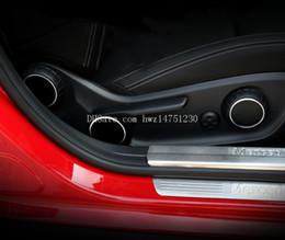 Wholesale Mercedes Plates - Dedicated to the Mercedes-Benz GLA seat adjustment decorative plate GLA200 GLA220 GLA260 interior decoration