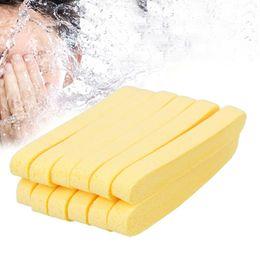 6 paia di spugne compresse in spugna Stick per la pulizia del viso Pad Riutilizzabili Strisce detergenti per il viso Detersivo per il viso da lavaggio schiumoso fornitori